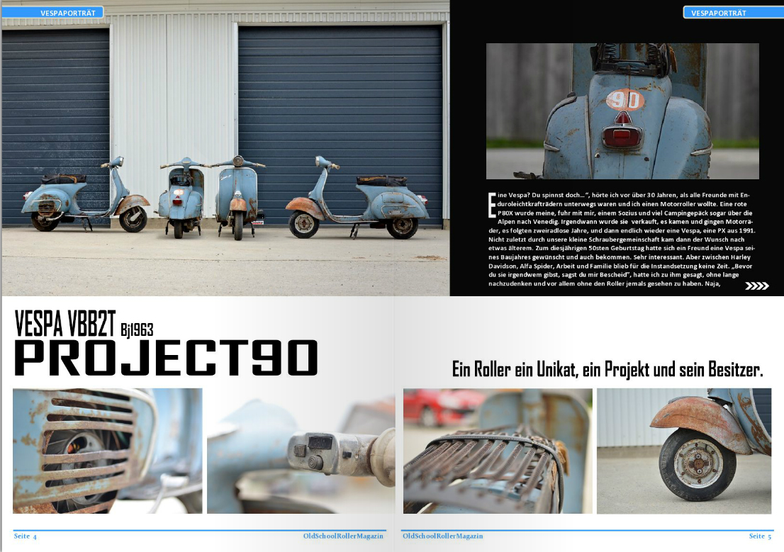 project90 in rollermagazin.at